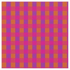 A very colourful check pattern in Brilliant Orange, Shocking Pink and Bright Purple that coordinates with the Posh & Painterly 'Islamic' collection by Judy Adamson. Use together with other patterns in this collection for eye-catching quilting and other craft or sewing projects: up to $27.95 per yard - http://www.zazzle.com/islamic_bright_pink_orange_check_pattern-256304358851829577?rf=238041988035411422&tc=pintw