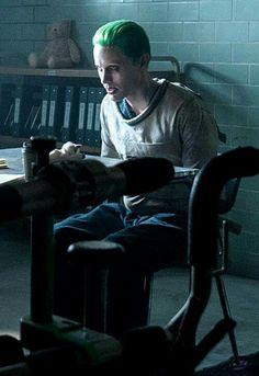 Jared Leto as The Joker ❤                                                                                                                                                     More