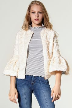 Laurensia 2 Way Blouse Jacket Discover the latest fashion trends online at storets.com