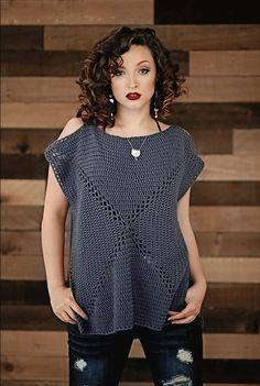 Cold-Shoulder Granny Top By Salena Baca - Purchased Crochet Pattern - (ravelry)