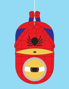 #spiderman #marvel #minions