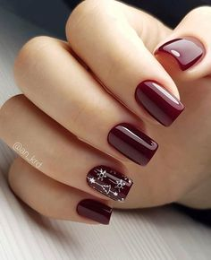 nail designs coffinnail designs for short nails 2019 nail art stickers online nail art stickers how to apply best nail wraps 2019 Christmas Gel Nails, Christmas Nail Art Designs, Holiday Nails, Nagellack Design, Nagel Gel, Stylish Nails, Acrylic Nail Designs, Acrylic Nails, Coffin Nails