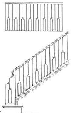 Stair Railing Designs ISR603