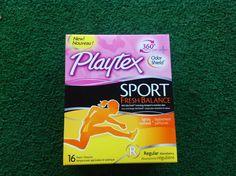 Playtex Sport Fresh Balance #playon @playtex_sport #vitalityvoxbox