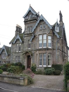 Large house in St Andrews, Scotland