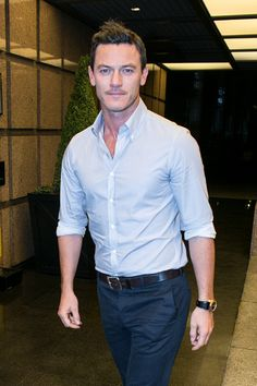 Luke Evans I just want to meet him and muss up his hair. Actually see if it musses. :D