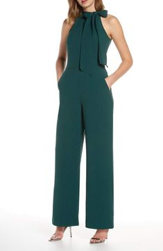 jumpsuit fashion Shop a great selection of Vince Camuto Kors Bow Neck Stretch Crepe Jumpsuit. Find new offer and Similar products for Vince Camuto Kors Bow Neck Stretch Crepe Jumpsuit Jumpsuit Dressy, Jumpsuit Outfit, Jumpsuit Style, Elegante Jumpsuits, Jumpsuit For Wedding Guest, Chic Outfits, Fashion Outfits, Fashion Women, Fashion Fashion
