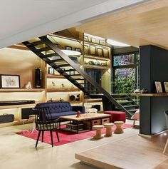 Plan:B Arquitectos together with Perceptual Studio have designed the Click Clack Hotel in Bogota, Colombia.