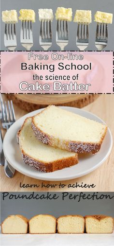 Fashioned Pound Cake - Quatre Quarts Free 7 part class all about the science of cake batter. Learn how to fix your cakes and go beyond the recipe.Free 7 part class all about the science of cake batter. Learn how to fix your cakes and go beyond the recipe. Science Cake, Baking Science, Food Science, Kitchen Science, Baking Tips, Baking Recipes, Dessert Recipes, Baking Secrets, Oreo Desserts