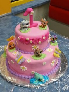 Morgan S Littlest Pet Birthday Cake Palace Pettlest