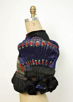 Hungarian traditional folkwear - Matyo blouse side view