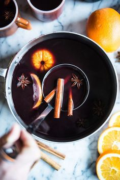 With warm spices, apple cider, and orange, this slow cooker mulled wine is the perfect thing to warm you up on a cold winter's night! Cooking Wine, Easy Cooking, Mulled Wine Spices, Fed And Fit, Wine Chart, Spiced Cider, Wine Deals, Expensive Wine, Cheap Wine