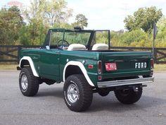 Classic Ford Broncos, Classic Bronco, Classic Trucks, Classic Cars, Pretty Cars, Cute Cars, Vintage Trucks, Old Trucks, My Dream Car