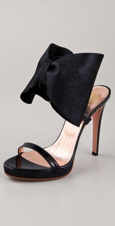 8d51859c5af4 VIKTOR  amp  ROLF High Heel Bow Sandals Bow Sandals