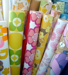 It was all flower power in the 60s and 70s. What roll do you think Sam's bedroom would have been decorated in?