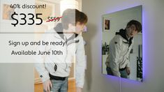 Forget the next train or bus time? Imagine having that information and more on your wall. Axiom Smart Mirror delivers information, lighting and a great mirror in one package. Bus Times, Weather Predictions, Smart Home, The Neighbourhood, Innovation, Forget, Train, In This Moment, Technology