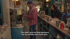 "And, in typical Luke fashion, never gave Jess the password. | 26 Reasons Luke Is Still The Best Character On ""Gilmore Girls"""