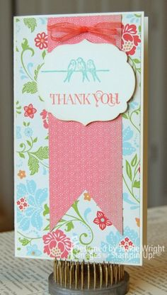 Clearly for You and Curly Cute stamps by Stampin' Up!