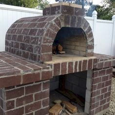 outdoor fireplace and pizza oven combination outdoor ideas