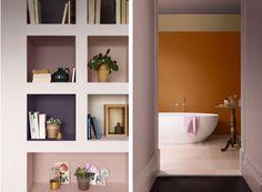 Ochre bathroom? mmm Bathroom Inspiration, Interior Inspiration, 2018 Color, Ultra Violet, Color Trends, Colorful Interiors, Beautiful Homes, Layout, Interior Design