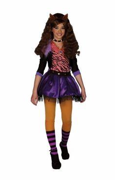 Déguisement Monster High - Costume Clawdeen Wolf