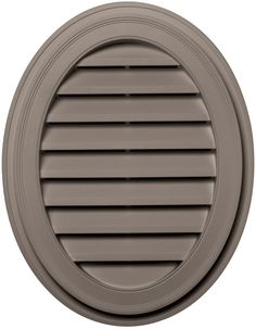 Builders Edge 120042127008 21' x 27' Oval Vent 008, Clay >>> Click image to review more details.
