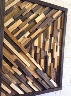 Madera de la pared arte  Arte de pared de madera por DanburyDesign