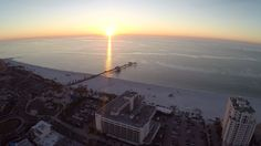 Clearwater Beach is a very popular vacation destination and location for weddings, and for good reason. We captured this aerial video on a day we were doing ...