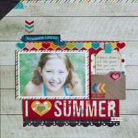 A Project by Kay Rogers from our Scrapbooking Gallery originally submitted 06/01/13 at 04:11 PM
