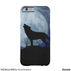 Full Moon Wolf Barely There iPhone 6 Case