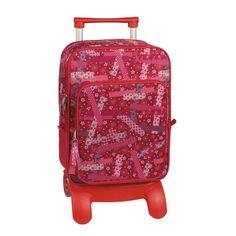 mochila escolar ruedas Washi Tape                                                                            30,0 x  40,0 x  19,0 cm.mochila escolar con ruedas Washi