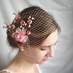birdcage veil - Cupids Kiss - a bridal bandeau $27 (not for me -- not doing a veil -- but I do love it and would wear this if I were to wear any veil!)