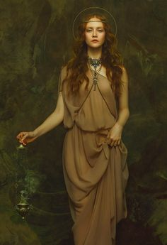 The women in Zhang Jingna's photographs look so pristine that at a first glance, they appear painted. The New York-based artist styles them in flowing, ruffled gowns and adorns them with flower...