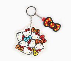 Hello Kitty Key Ring: Multi-Bows