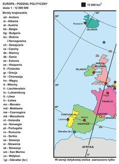 24. Europa – podział polityczny