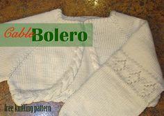 Free Bolero Knitting Pattern For Child : 1000+ images about Knitted childs bolero on Pinterest Boleros, Free kn...