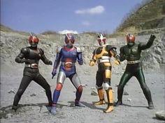 mask riders..  black, bio, robo, rx