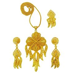Banithani Traditional Indian Ethnic Pendant Necklace Set Bridal Bollywood Jewelry Gift For Her Banithani http://www.amazon.com/dp/B015ZQS03W/ref=cm_sw_r_pi_dp_6hvkwb0PHVXDY