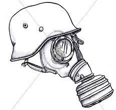 Resultado de imagem para mascara de gas oque siginifica em tattuagem