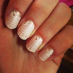 Essie nail strips!  These actually work.