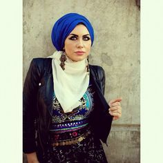 Different #hijab styles and ways of wearing them ...