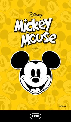 Check out this adorable theme starring the classic face of Mickey Mouse! The yellow and black cool pop design is a great look for all your screens. Updates supported for 180 days after sales end. Mickey Mouse Wallpaper Iphone, Iphone Wallpaper Sky, Cute Disney Wallpaper, Disney Lines, Disney Word, Mickey Mouse Art, Mickey Mouse And Friends, Minnie Mouse, Cute Cartoon Drawings
