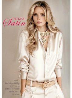 Dallas Shaw Blog: Satin