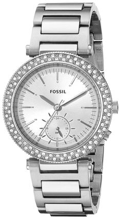 Fossil Women's ES3849 Urban Traveler Multifunction Stainless Steel Watch *** Want to know more about the watch, click on the image.