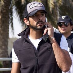 Crown Prince of Dubai, HH Sheikh Hamdan Bin Mohammed Bin Rashid Al Maktoum @Francisca Faz during the Gamliati Endurance Cup for Mares CEN 120km ..salemowaisi