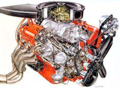 Mystery engine cutaway