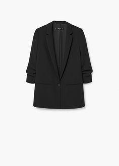 Ruched sleeves blazer REF. 71085553 - LEONORA $119.99