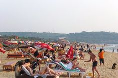 Candolim Beach Near Strand Park Goa #goa #travel #beach