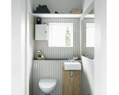 Steal This Look: Compact Danish Bathroom