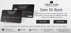 Credit Card > Sonoma Brand, Cake Decorating Kits, Rewards Credit Cards, Visa Card, Birthday Month, Top Gifts, Williams Sonoma, Credit Card Offers, First Names